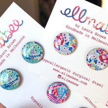 Load image into Gallery viewer, Deep Sea Studs Pink Multi