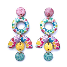 Load image into Gallery viewer, MOSAIC Statement Earrings in Multi