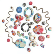 Load image into Gallery viewer, FIESTA Statement Earrings Circles
