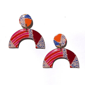FIESTA Statement Earrings Arches