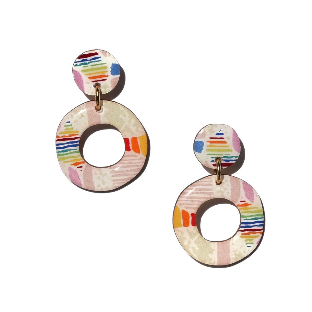 CONFETTI Earrings Mini Hoops