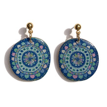 Load image into Gallery viewer, BLOOM Earrings in Blue