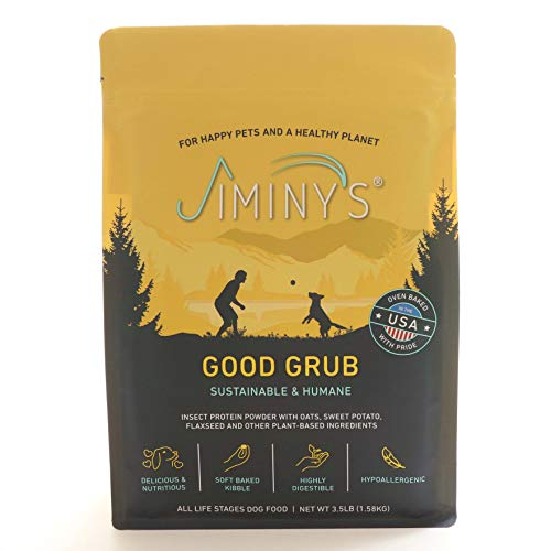 Jiminy's Good Grub Insect Protein Oven-Baked Dog Food