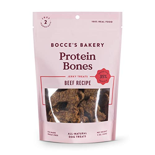 Bocce's Bakery Beef Protein Bones Dog Treats