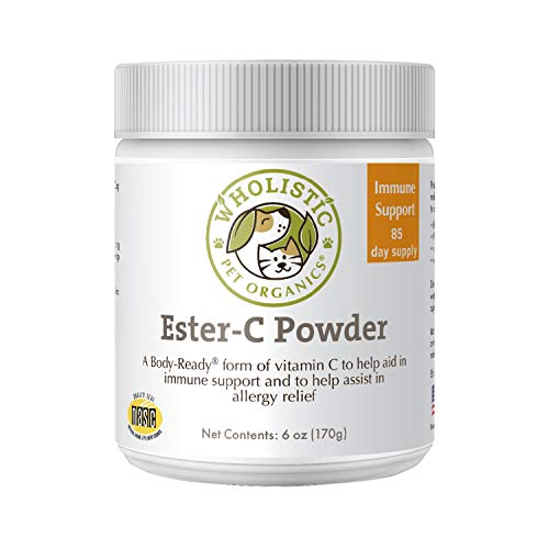 Wholistic Pet Organics Ester C: Vitamin C Dog Supplement