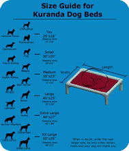 Load image into Gallery viewer, Kuranda Walnut Dog Bed (Small)