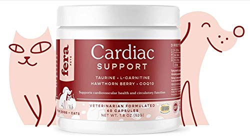 Fera Pet Organics Cardiac Support Cat and Dog Supplement