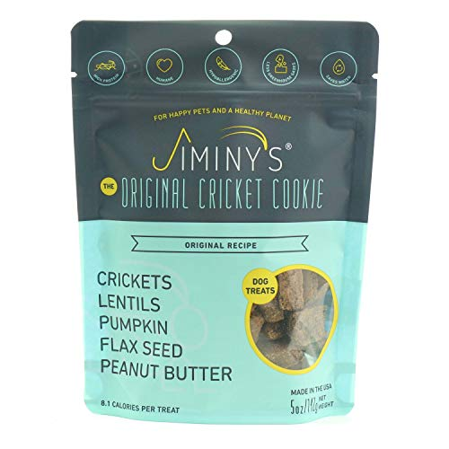 Jiminy's Cricket Protein Peanut Butter & Pumpkin Cricket Cookie Treats