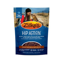 Load image into Gallery viewer, Zuke's Hip Action Hip & Joint Dog Treats Peanut Butter & Oats Recipe