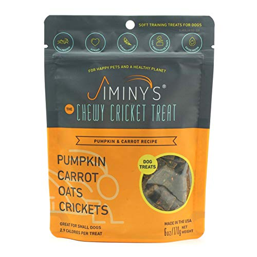 Jiminy's Cricket Protein Dog Treats