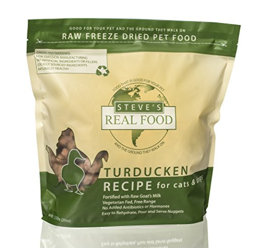 Steve's Real Food Freeze-Dried Turducken Nuggets Pet Food