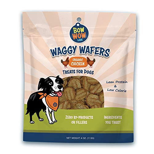 Bow Wow Labs Waggy Wafers All Natural Dog Treats (Salmon)
