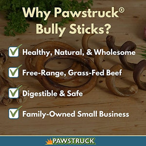 Pawstruck Mini Bully Stick Variety Pack Dog Treats