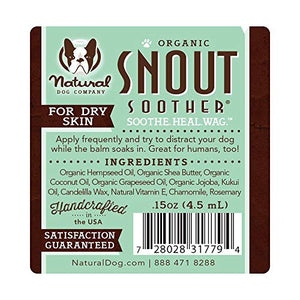 Natural Dog Company Snout Soother Trial Stick