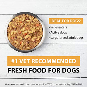 JustFoodForDogs Turkey & Whole Wheat Macaroni Dog Food