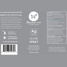 Load image into Gallery viewer, Fauna Care Silver Spray 2 oz