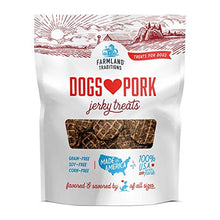 Load image into Gallery viewer, New Farmland Traditions Dogs Love Pork Jerky Treats
