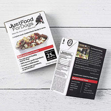 Load image into Gallery viewer, JustFoodForDogs Beef & Russet Potato Dog Food