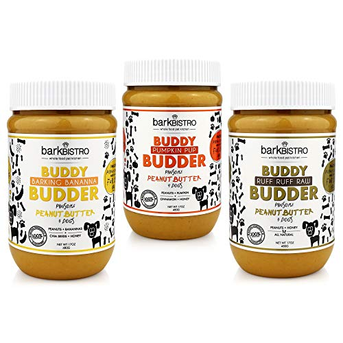 Buddy Budder Bark Bistro Dog Treats