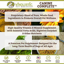 Load image into Gallery viewer, Wholistic Pet Canine Complete Organic Supplement