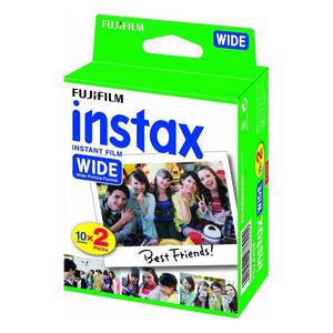 Instant Photographic Film Fujifilm Instax Wide Film (Refurbished A+)