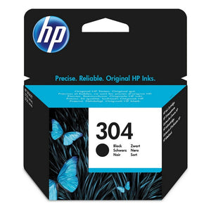 Original Ink Cartridge HP N9K06AE 304 Black (Refurbished A+)