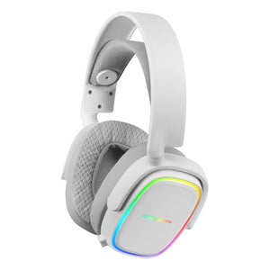 Gaming Headset with Microphone Mars Gaming MHAXW RGB White (Refurbished A+)