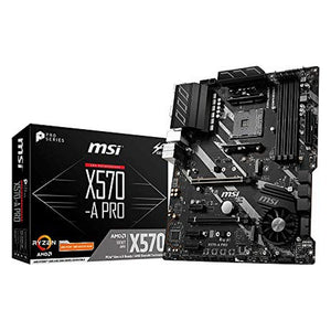 Motherboard MSI X570-A Pro ATX DDR4 AM4