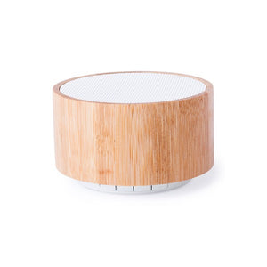 Wireless Bluetooth Speaker USB FM 3W Bamboo 146181