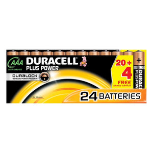 Batteries DURACELL Plus Power (24 pcs) (Refurbished A+)