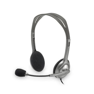 Headphones with Microphone Logitech H110 2 x Jack 1,4 m