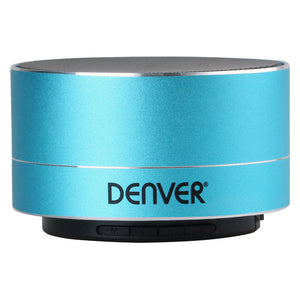 Portable Bluetooth Speakers Denver Electronics BTS-32 Blue 3W