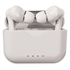 Bluetooth Headphones Denver Electronics TWE-37 300 mAh White