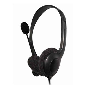 Headphone with Microphone Omega FIS1020 stereo Black