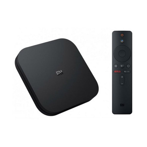 TV Player Xiaomi Mi BOX S 4K Ultra HD 8 GB 2 GB RAM Black