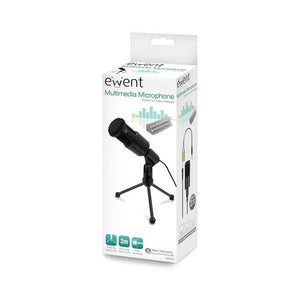 Table-top Microphone Ewent EW3552 3.5 mm Black