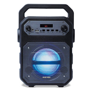 Portable Bluetooth Speakers Daewoo DSK-345B LED 15W Black