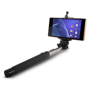 Extendible Bluetooth Selfie Stick KSIX 45 mAh Black