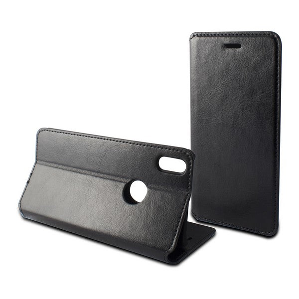 Folio Mobile Phone Case Aquaris X5 Slim Black