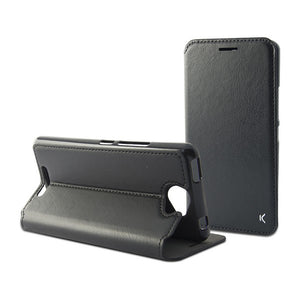 Folio Mobile Phone Case Aquaris U Flex Black