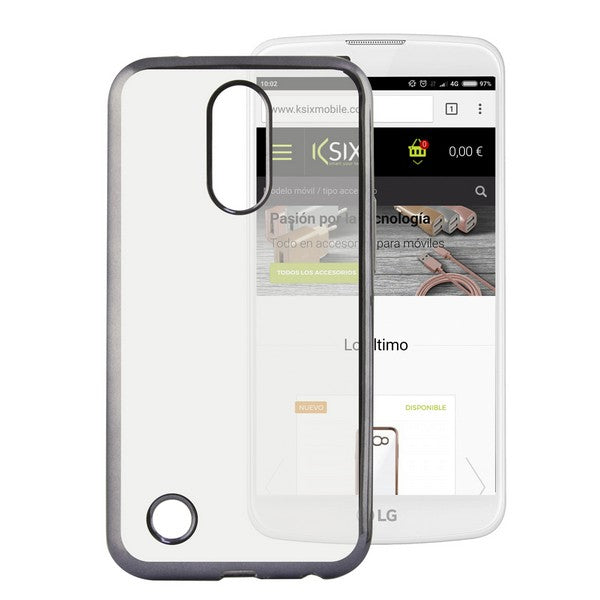 Mobile cover Lg K10 2017 Flex Metal Grey