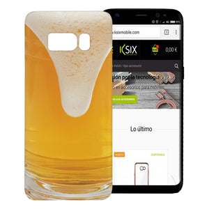 Mobile cover Samsung Galaxy S8 Flex TPU Beer