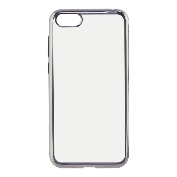 Mobile cover Huawei Y5 2018 KSIX Flex Metal Transparent
