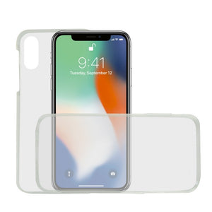 Mobile cover Iphone Xs Max KSIX Flex 360 (2 Pcs)