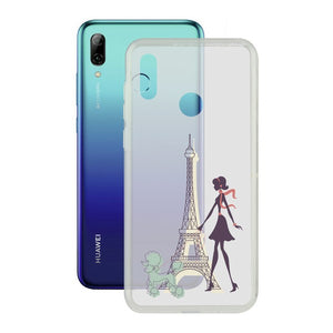 Mobile cover Huawei P Smart 2019 Contact Flex France TPU