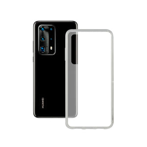 Mobile Phone Case with TPU Edge Huawei P40 Contact Flex Transparent