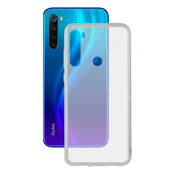 Mobile cover Xiaomi Redmi Note 8 Flex TPU Transparent