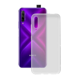 Mobile cover Honor 9x KSIX Flex Transparent