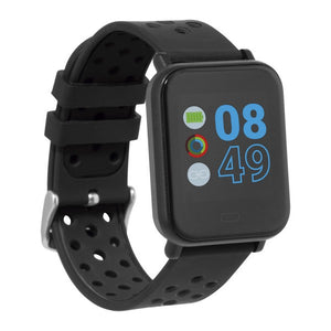 "Smartwatch KSIX Cube HR2 1,3"" TFT Bluetooth Black"