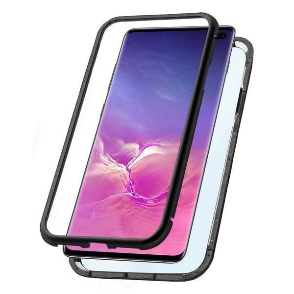 Mobile cover Samsung Galaxy S10+ KSIX Black